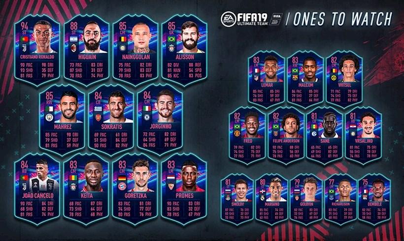 FIFA 19 OTW promo