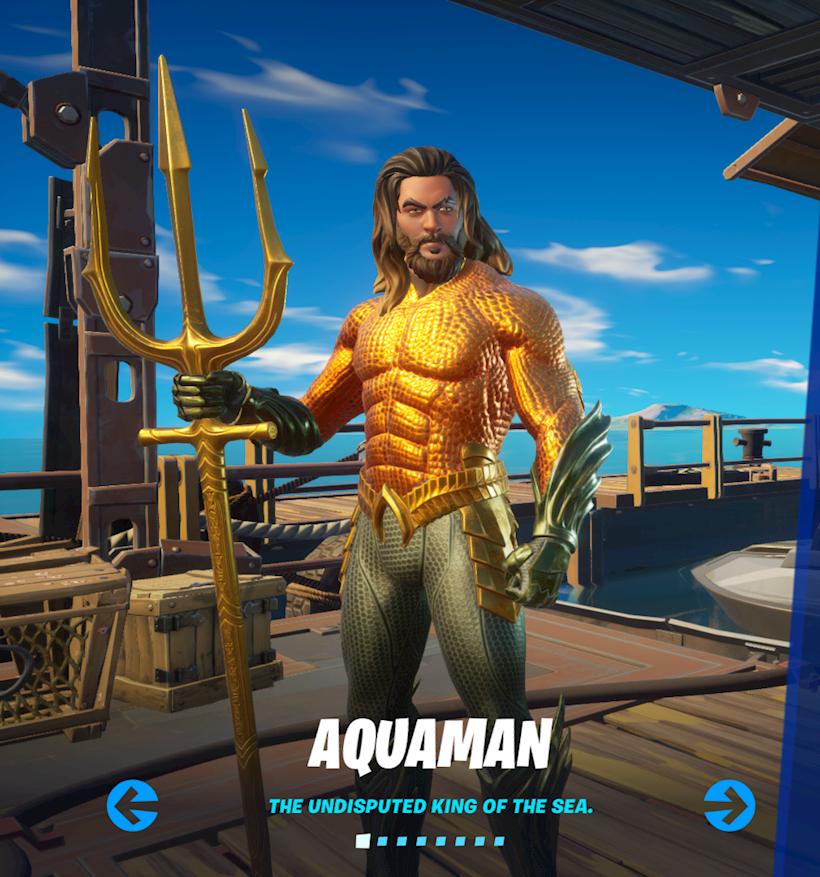 Aquaman King of the Sea
