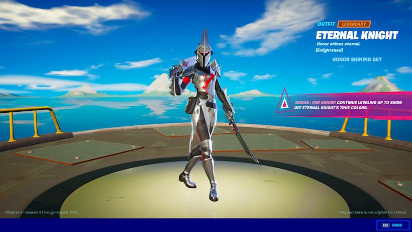 Eternal Knight Fortnite